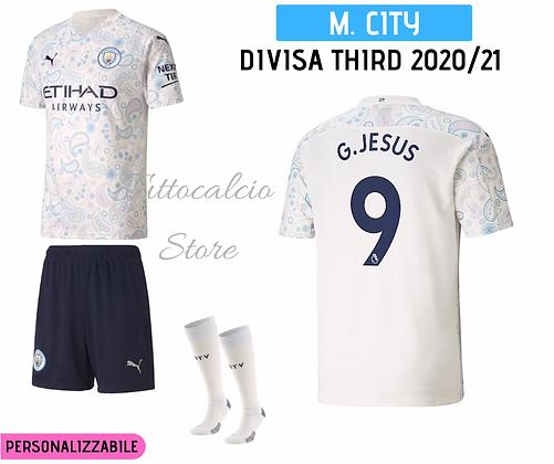 Divisa Third Bambino Manchester City 20/21