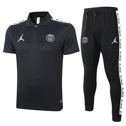 Set Polo PSG Jordan - *Fleece* - Black
