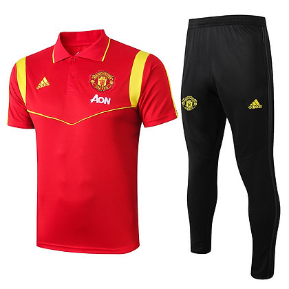 Set Polo Manchester United - Red/Black