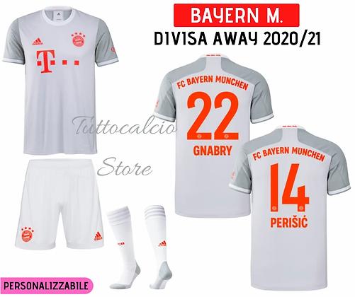 Divisa Away Bambino Bayern Monaco 20/21