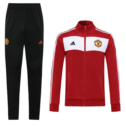 Tuta Rappresentanza Manchester United - Black/Red