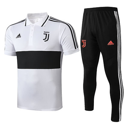 Set Polo - White/Black