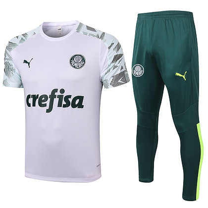 Set Training Palmeiras - White/Green