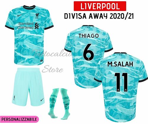 Divisa Away Bambino Liverpool 20/21