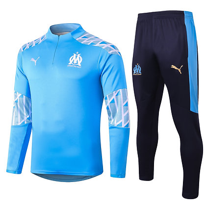 Tuta Training Marsiglia 2021 - Light Blue
