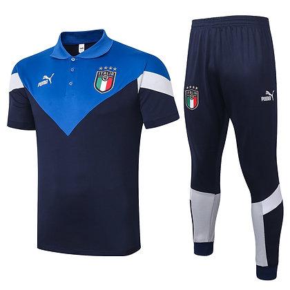 Set Polo Italia - *Classic* - Blue/Navy