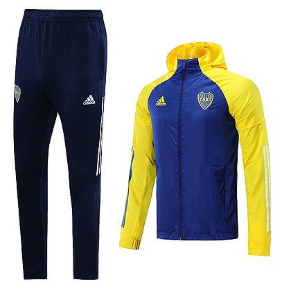 """Set Antivento  """"Supreme"""" 2021 - Boca Juniors - Blue/Yellow"""