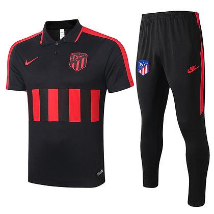 Set Polo Atletico Madrid - Black