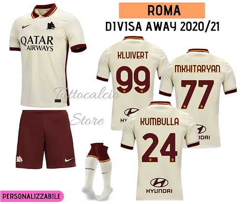 Divisa Away Roma 20/21