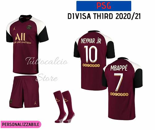 Divisa Third Bambino PSG 20/21