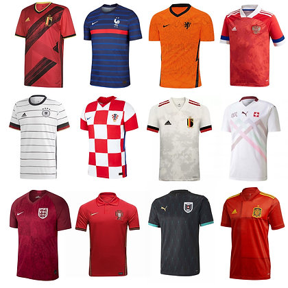 Divise Nazionali EUROPA 2020 - Scegli la Tua!