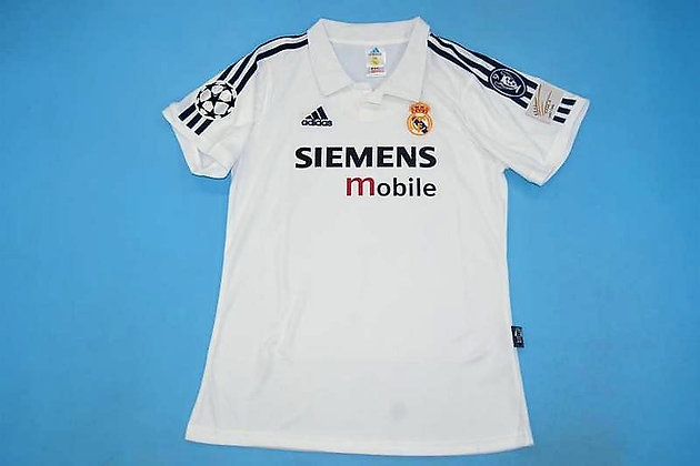 Maglia Storica Real Madrid Home 02-03 Intercontinental Cup
