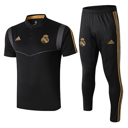 Set Polo Real Madrid - Black