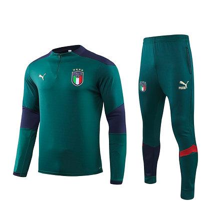 Tuta Training Italia - Green