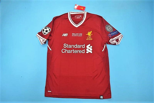 Maglia Storica Liverpool Home 17/18 UCL Final