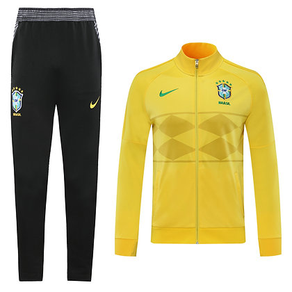 Tuta Rappresentanza Brasile - Yellow/Black