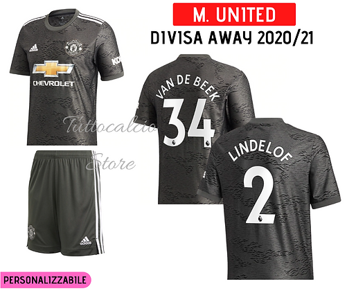 Divisa Away Manchester United 20/21