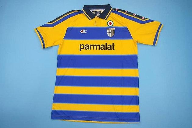 Divisa Storica Parma Home 99/00
