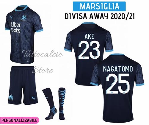 Divisa Away Bambino Marsiglia 20/21