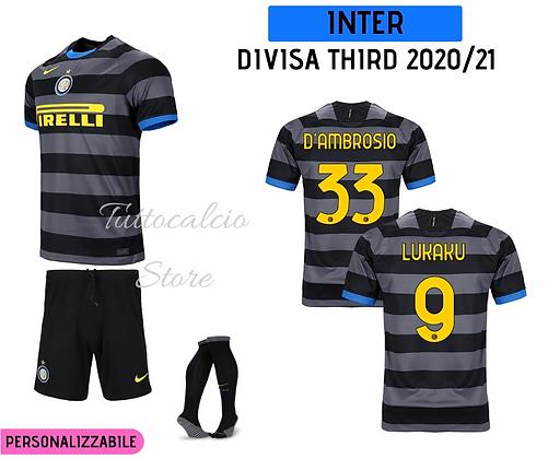 Divisa Third Bambino Inter 20/21