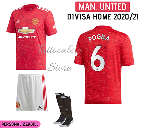 Divisa Home Manchester United 20/21