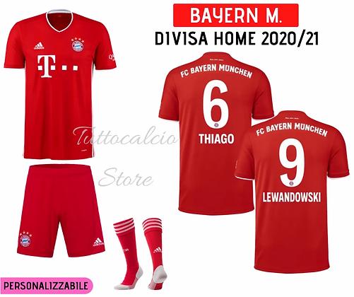 Divisa Home Bambino Bayern Monaco 20/21