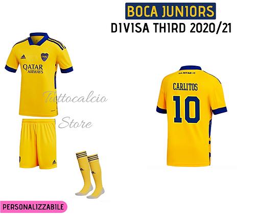 Divisa Third Boca Juniors - 20/21