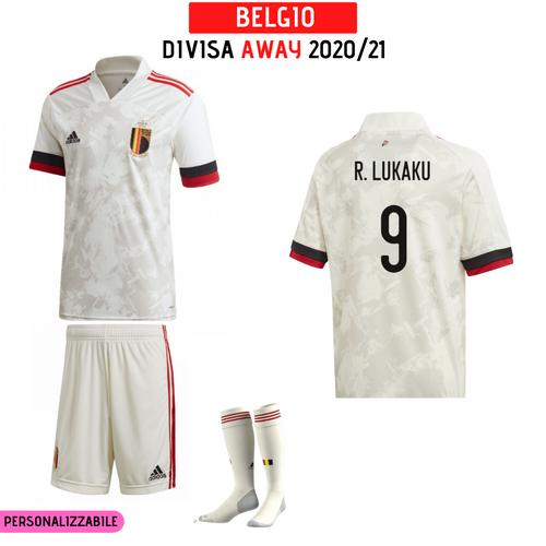 Divisa Away Belgio EURO 2020