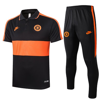 Set Polo Chelsea - Orange/Black