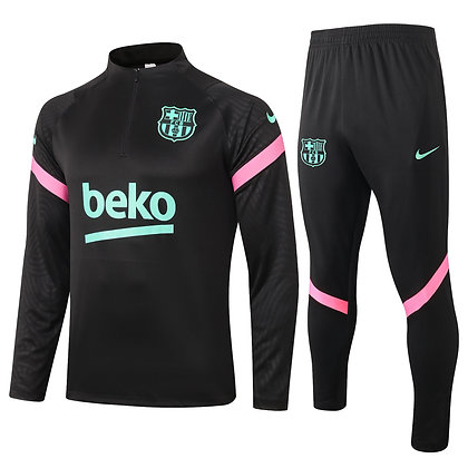 Tuta Training Barcellona 2021 - Black
