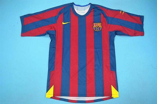 Maglia Storica Barcellona Home 2006 UCL Final