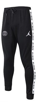 Pantalone Fleece Hoodie PSG - Total Black - SIZE L
