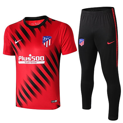 Set Training Atletico Madrid - Red/Black
