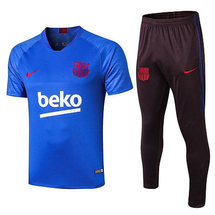 Set Training Barcellona - Blue/Navy
