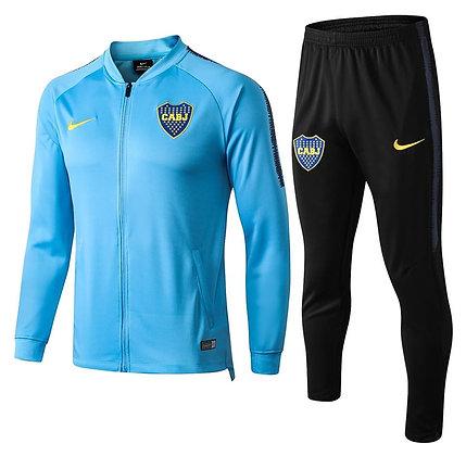 Tuta Rappresentanza Boca Juniors - Light Blue/Black