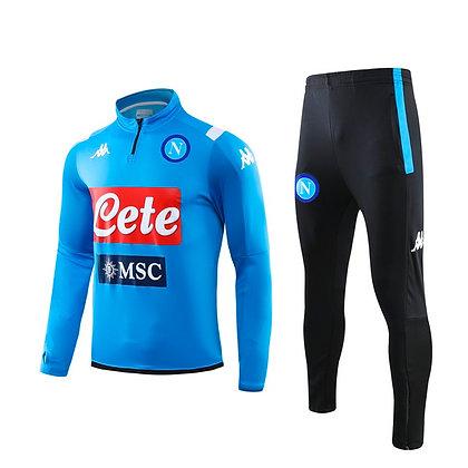 Tuta Training Napoli - Light Blue/Black