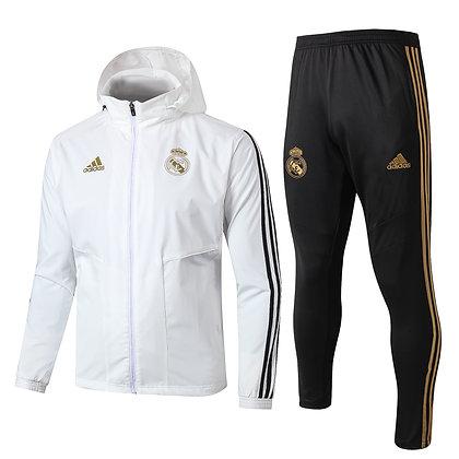 Set Antivento Real Madrid - White/Black