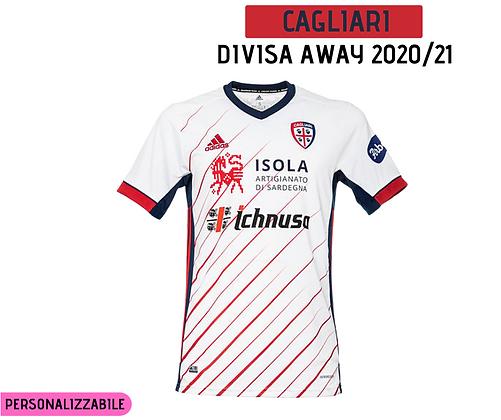 Maglia Away Cagliari 20/21