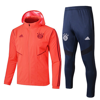 Set Antivento Bayern Monaco - Red/Navy