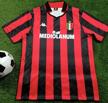 Maglia Storica Milan Home 88-89