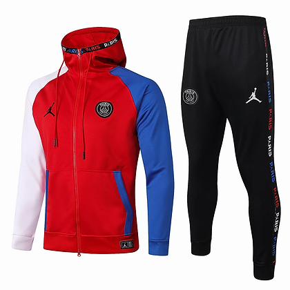 "Tuta Bambino Fleece ""National"" PSG 2021 - Red"