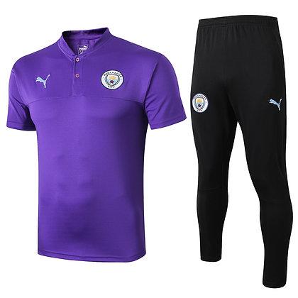 Set Polo Manchester City - Purple/Black