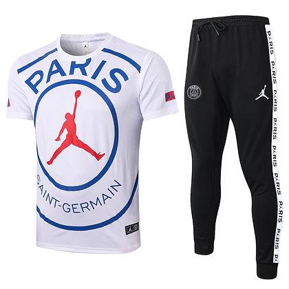 Set Training PSG Jordan - White/Black