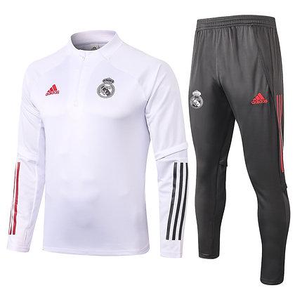 Tuta Training Real Madrid 2021 - White