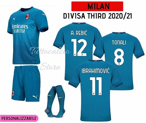 Divisa Third Bambino Milan 20/21