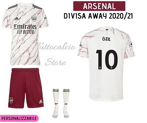 Divisa Away Arsenal 20/21