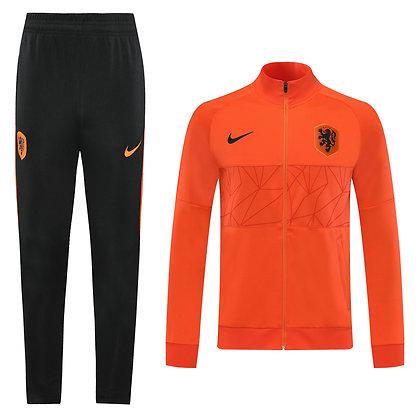 Tuta Rappresentanza Olanda - Orange/Black