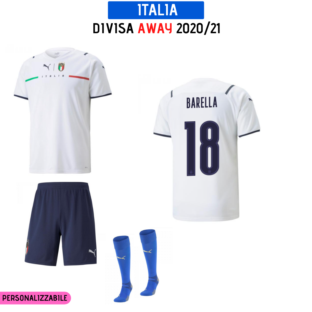 Divisa Away Italia EURO 2020
