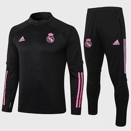 Tuta Training Real Madrid 2021 - Black