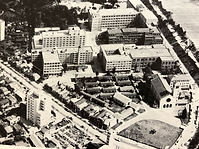 Yotsuya campus in the past: a photo from SUSEI booklet